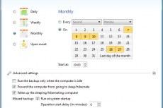 Календарь планирования архивации