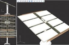 CorelCAD 2016. Возможности просмотра 3D объектов