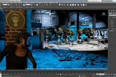 Поддержка рендеринга DX 11 на видовом экране