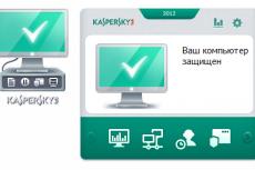 При использовании Антивируса Касперского 2012 на компьютере под управлением операционной системы Microsoft Windows Vista или Microsoft Windows 7 вам доступен гаджет рабочего стола. Он предназначен для быстрого доступа к основным функциям продукта (состояние защиты, проверка на вирусы и т.д.)