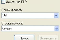 10-Strike Network File Search. Форма поиска