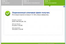 Управление лицензиями Dr.Web для Windows