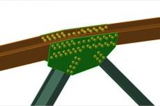 Проектировщики могут создавать, модифицировать и обновлять резьбовые соединения, а также задавать расположение болтов, гаек и шайб