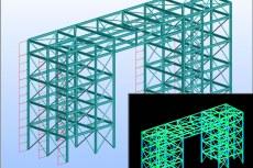 После импорта моделей стальных конструкций, созданных в Robot Structural Analysis, а также файлов в формате CIS/2, приступают к созданию модели сборки и дальнейшей деталировке