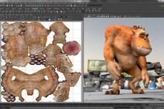 Autodesk Maya 2014. UV-текстуры, нормали и цветовое кодирование