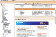 Kerio Connect WebMail - быстр, интуитивно понятен, и моментально синхронизируется с мобильными и настольными почтовыми клиентами