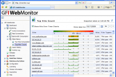 Мониторинг соединений и статистики