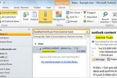 Microsoft Office Outlook 2010. Эффективный поиск нужных сведений